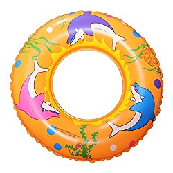 NOVICZ Inflatable Floating Tube 80 Cm Diameter Swimming Tube Pool Beach Float Raft tube Water Floating Tube Swim Ring