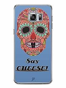 YuBingo Say Cheese Designer Mobile Case Back Cover for Samsung Galaxy S6 Edge Plus