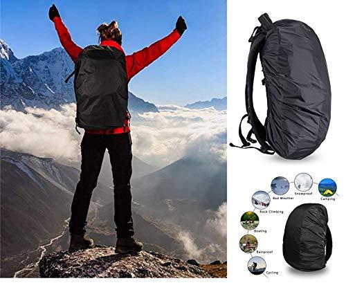 POLESTAR Hike Grey Rucksack with RAIN Cover/Trekking/Hiking BAGPACK/Backpack Bag Image 6
