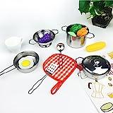 Kidami Kitchen Pretend Toys Stainless St...