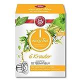 Teekanne easy Tea 6 Kräuter 10 Teekaspeln - kompatible Tee Kapseln für Nespresso ®* Maschinen
