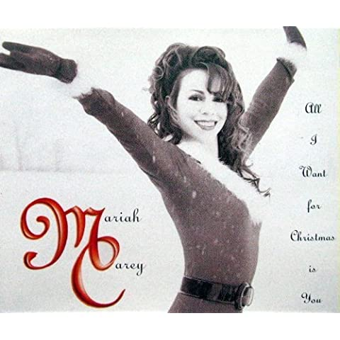 All I want for christmas is you [Single-CD] by Mariah Carey (1994-10-20)