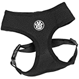 Me & My Pets Black Mesh Vest Dog Harness - Medium