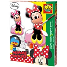 Minnie Mouse - Moldea y pinta, set de juego, multicolor (SES 01266)