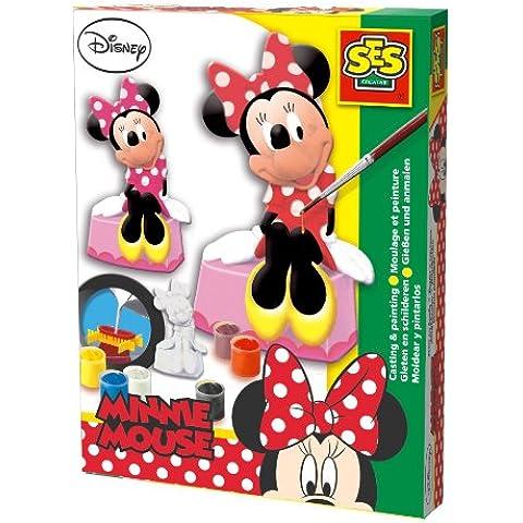 Minnie Mouse - Moldea y pinta, set de juego, multicolor (SES 01266)