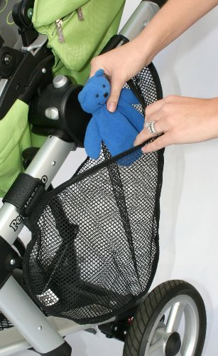 jl-childress-side-sling-stroller-cargo-net-black-baby-babe-infant-little-ones