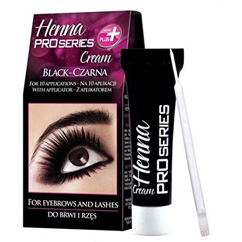 GKA Henna Pro Series Cream Augenbrauenfarbe Wimpernfarbe Augenbrauen Wimpern Farbe braun oder...