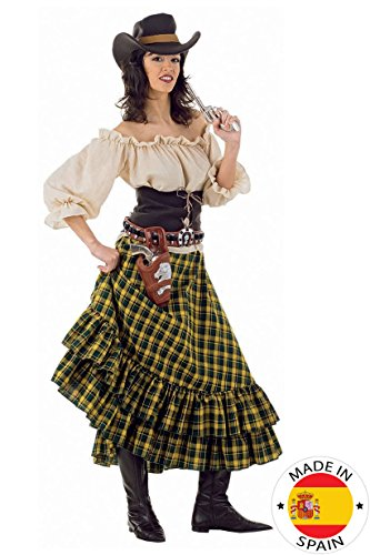 Limit Wild West Girl Kostüm (2 x - Saloon Girl Kostüm Zubehör