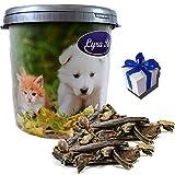 Lyra Pet 5 kg Rinderpansen 2-10 cm in 30 L Tonne Hundefutter Kausnack + Geschenk