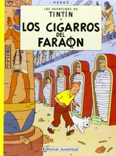 C- Los cigarros del faraón (LAS AVENTURAS DE TINTIN CARTONE) por HERGE-TINTIN CARTONE I