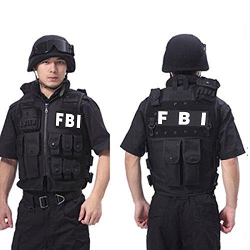 Taktische Weste - Swat Weste Taktische CS Feld Weste Outdoor Ultraleichte Atmungsaktive Tactical Vest verstellbarer Gürtel für Outdoor (60cm - Weste Softair Für Kinder