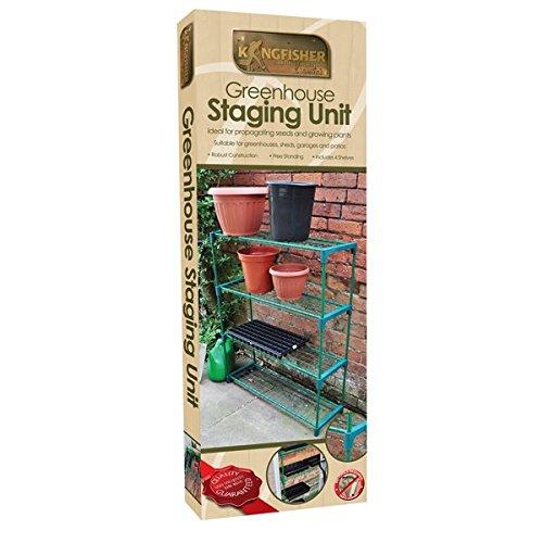 Stadification serre Unité - 4 étagère - jardinage - Kingfisher