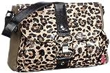 poodlebag® Natural wild Handtaschen Damen Over-Cross-Taschen im Wilden, exotischen Leo-Look