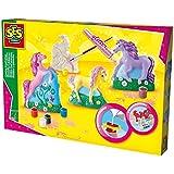 SES Creative - Set para moldear y pintar caballos, multicolor (01356)