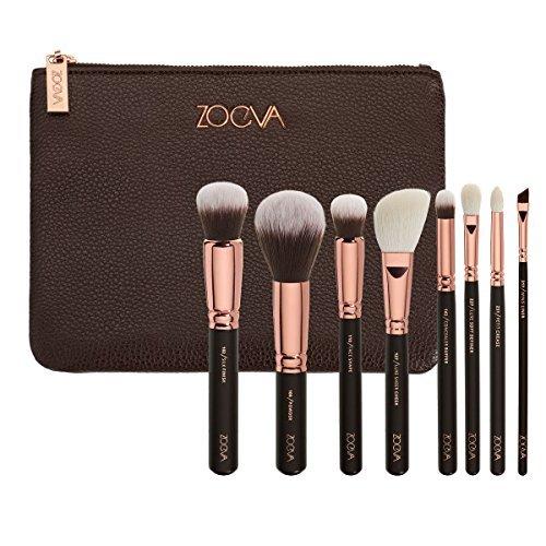 Lot de 8 pinceaux Visage et yeux - ZOEVA Set Rose Golden Luxury (7461)