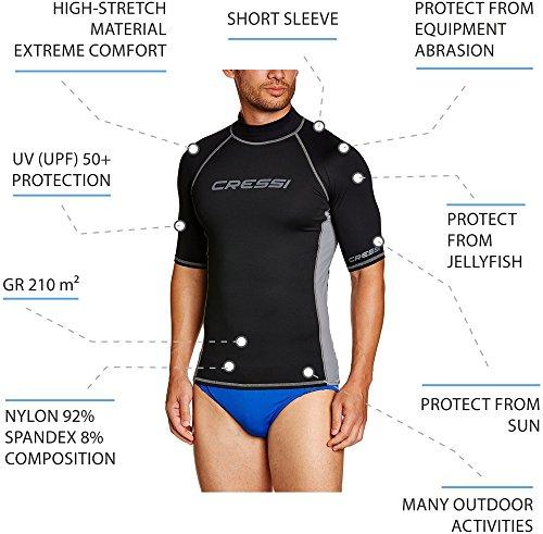 Zoom IMG-3 cressi rash guard man maniche