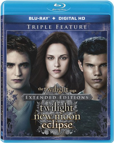 Twilight / New Moon / Eclipse [Blu-ray]