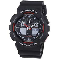 G-Shock Men's Quartz Watch with Analogue Digital Display and Resin Bracelet