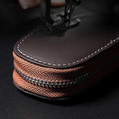 e1d005ac0a AUTLY auto portachiavi borsa della vera pelle auto Smart portachiavi ...