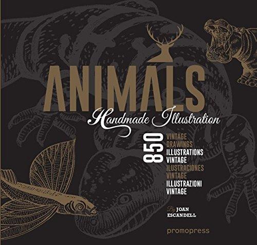 1000 Handmade Illustrations. Animals.