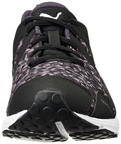 Puma - Evader Xt Graphic Wn's, Scarpe fitness Donna Nero (Schwarz (black-periscope 03))