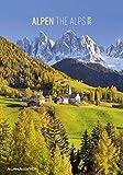 Alpen 2020 - The Alps - Bildkalender (24 x 34) - Landschaftskalender - Natur - Wandkalender