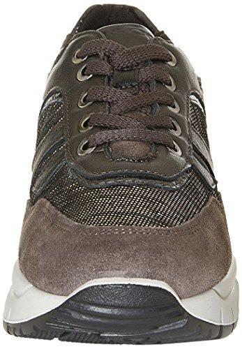 IGI&CO Dsa 8762, Sneaker a Collo Basso Donna Grigio (Antracite)