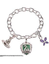 Noble Collection nn7710–Harry Potter Slytherin Bracelet Lumos Talisman