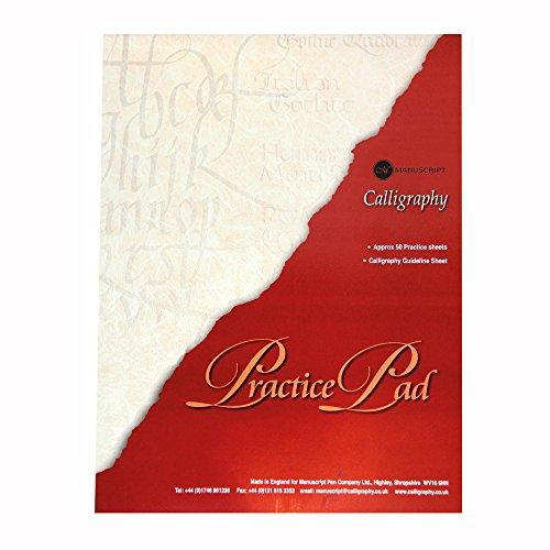 Manuscript - Papel para practicar caligrafías (A4)