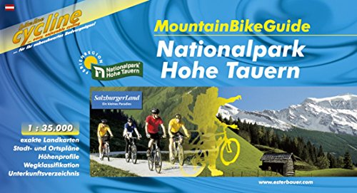 Hohe Tauern Nationalpark Mountainbikeguide 2004 por Esterbauer