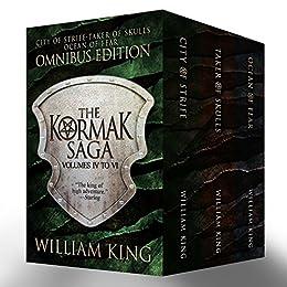 The Second Kormak Saga Omnibus (Boxed Set) (Kormak Saga Boxed Book 2) by [King, William]
