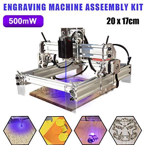 Pro 3 Axis USB 500mW Laser Holz Graviermaschine 20x17cm CNC Router Fräsmaschine Laser Drucker, Versand aus Deutschland