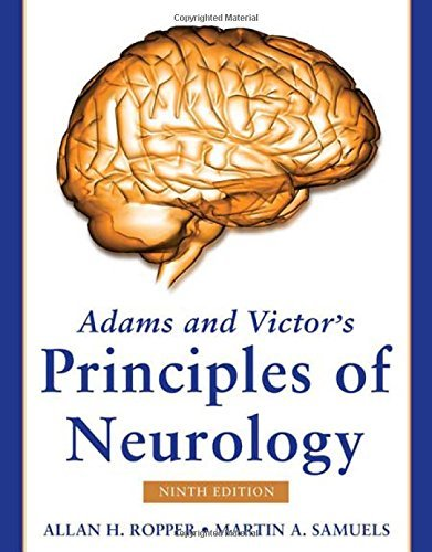 Adams and Victor's Principles of Neurology, Ninth Edition (Adams & Victor's Principles of Neurology) by Allan H. Ropper (2009-04-01)