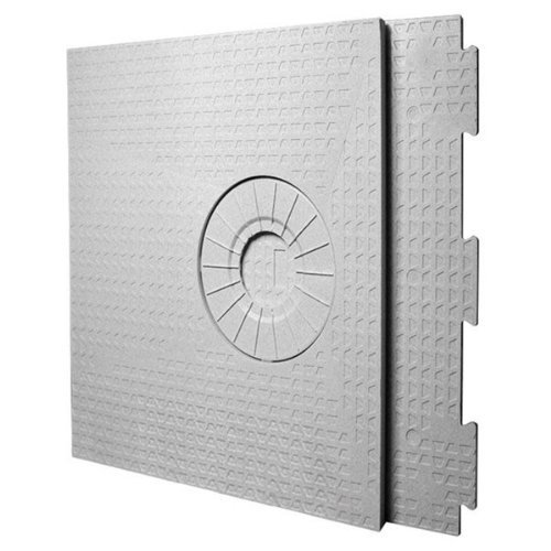 KERDI-SHOWER-ST - 32 x 60 - Shower Tray - Off-Center Drain Placement - 1-1/2 Perimiter Height by Schluter Systems