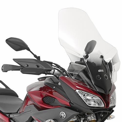 Givi Cupolino Trasparente per Yamaha-MT-09 Tracer dal 2015 fino al 2015