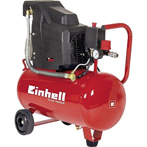 Einhell tc-ac 190/24/8 compressore, 1500 w, 230 v, rosso