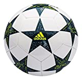 adidas UCL Finale 16 Mini Fußball, White/Vapour Steel/Tech Green, 1