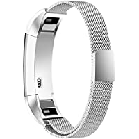"Simpeak Fitbit Alta/Fitbit Alta HR Cinturino 180mm, Fitbit Alta Bande Cinghia Milanese Magnetica Loop di Ricambio in Acciaio Inossidabile cinturino per Fitbit Alta Smart Watch 5.5""-8.5"""