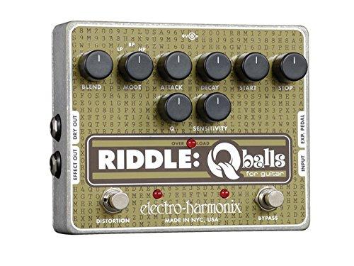 Pedal de Electro Harmonix Enigma de plata de la guitarra eléctrica