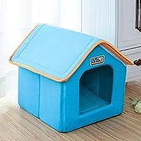 VIOY Caseta Canina Canina para Perros de Doble Uso Casa para Mascotas Cuatro Temporadas Bandeja de