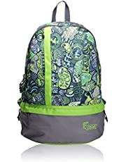 F Gear Burner P2 26 Ltrs Green Casual Laptop Backpack (1961)