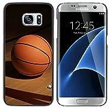 Graphic4You Basketball Sports Theme Design Coque Cache Étui Housse de Protection pour Samsung Galaxy S7 Edge