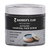 #9: Barber's Club Activated Charcoal Face Scrub - 130 g