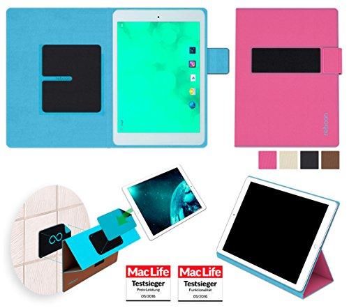 reboon Hülle für Blaupunkt Polaris 7 Tasche Cover Case Bumper | in Pink | Testsieger