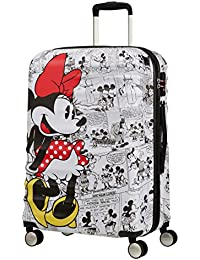 American Tourister Wavebreaker Disney - Comics Spinner Medium Equipaje de Mano, 67 cm, 64