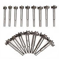 Welinks 16 Forstnerbohrer Set individuelle Titan beschichtet Legierung Stahl Holz Boring Lochsäge Set Holz Forstner Bohrer Cutter 15 mm-35 mm
