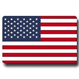 Kühlschrankmagnet Flagge USA - 85x54 mm - Metall Magnet mit Motiv Länderflagge Amerika