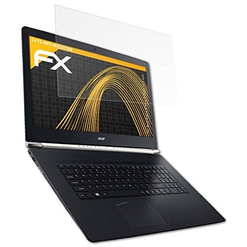 atFolix Panzerfolie kompatibel mit Acer Aspire V Nitro 7-792G 17,3 inch Schutzfolie, entspiegelnde & stoßdämpfende FX Folie (2X)