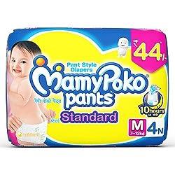 MamyPoko Pants Standard Diaper - Medium Size - 4 Count