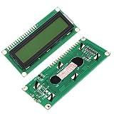 SODIAL (R) 1602 162 16x2 Display LCD Character Module HD44780 controller Retroilluminazione giallo